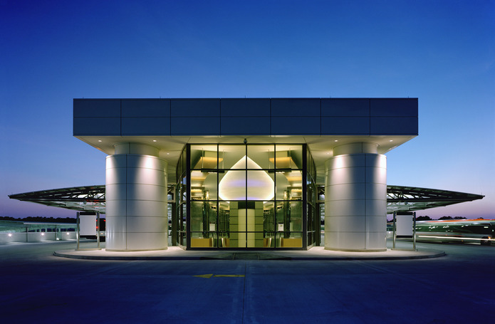 George Bush Intercontinental Airport Consolidated Rental Car Facility